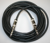 "Balanced 15' 1/4"" to 1/4"" Stereo (TRS) Cable"