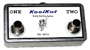 KoolKat's 2 button Footswitch for Lexicon LEX-DFS