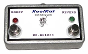 KoolKat 2 Button FootSwitch for Bedrock 1200 Series