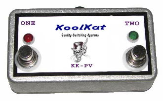 KoolKats 2 Button Footswitch for Peavey 6505 (Original)