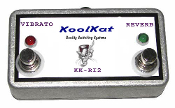 KoolKat's Fender 2 Re-Issue VIBRATO REVERB Footswitch