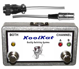 KoolKat's Sunn Beta Lead 2 Button Footswitch