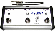 KoolKat Switches 3 button Footswitch for Marshall JCM2000 DSL401