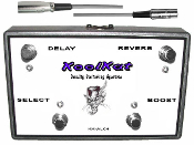 KoolKat's 4 Button  Footswitch for the Bogner Alchemist