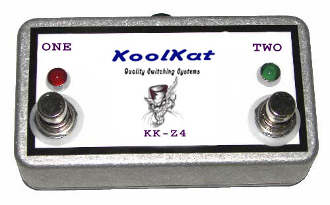 KoolKat's 2 button footswitch for ENGL Z-4 Replacement