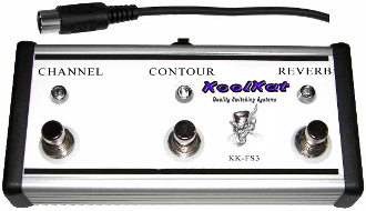 KoolKat's 3 Button Footswitch for the Mesa Boogie F-50