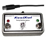 KoolKat 2 Button Footswitch for Peavey Centurion MK-II