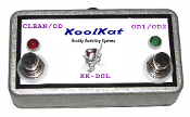 KoolKat's 2 Button Foot switch for Marshall JCM2000 DSL401